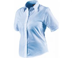Ladies Oxford S/S Blouse